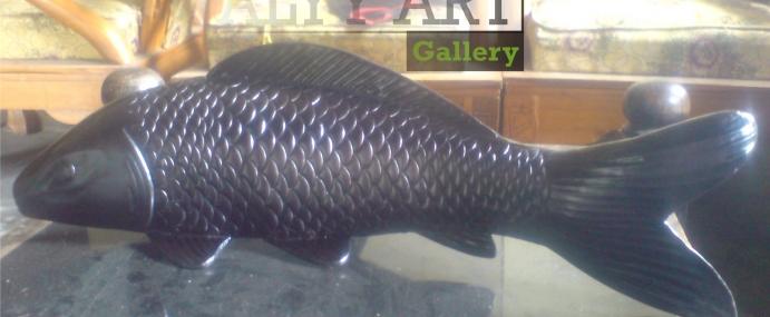 Kerajinan Patung Ikan