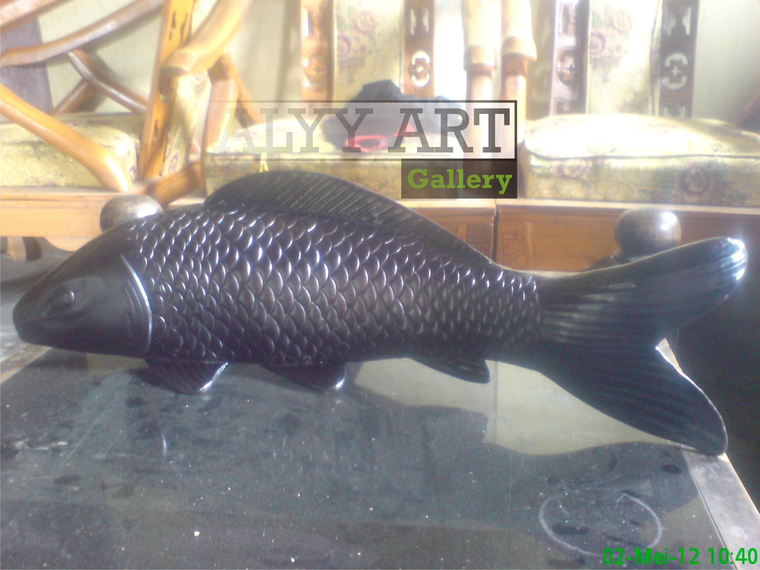 Patung Ikan Tembaga