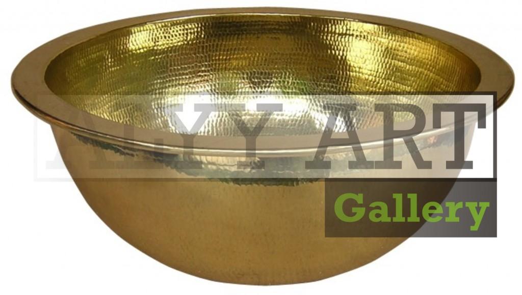 kerajinan bowl kuningan