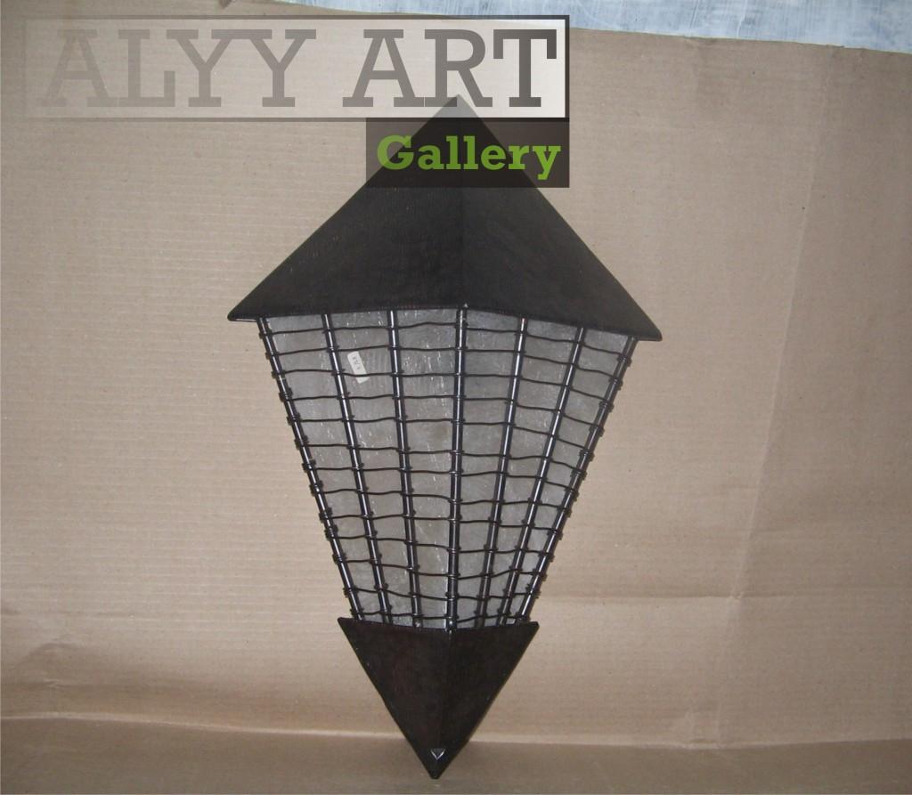 kerajinan lampu dinding
