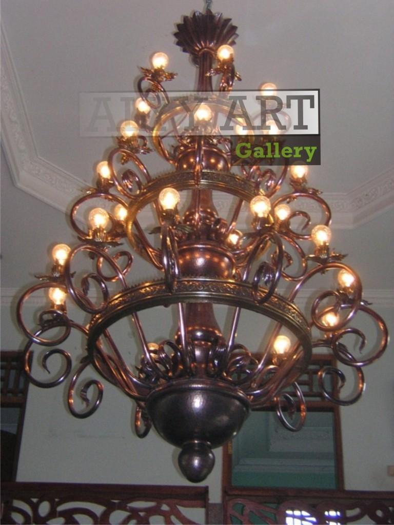 kerajinan lampu gantung