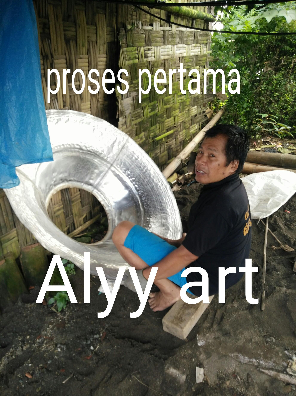 Proses Kerajinan Meja Alumunium