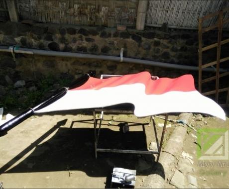 Ornamen Bendera Untuk Mabes TNI Jakarta