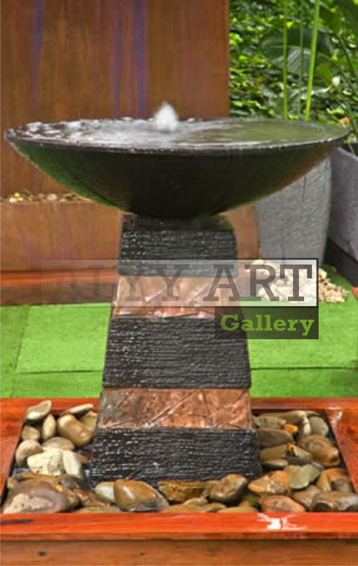Air Mancur Bowl Tembaga